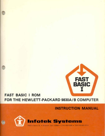 Infotek Fast Basic I Manual0202